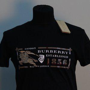 Burberry London Black Short Sleeve T-Shirt